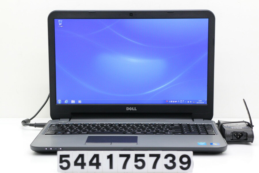 DELL Latitude 3540 Core i5 4200U 1.6GHz/4GB/500GB/Multi/15.6W/FWXGA(1366x768)/Win7【中古】【20170512】