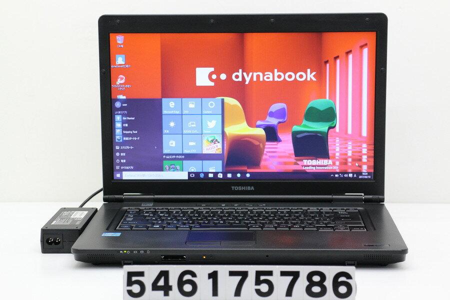 東芝 dynabook Satellite B552/H Core i7 3540M 3GHz/4GB/500GB/DVD/15.6W/FWXGA(1366x768)/Win10【中古】【20170620】