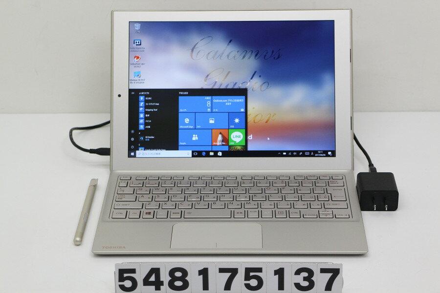東芝 dynaPad S92/T Atom x5-Z8300 1.44GHz/4GB/64GB/12.0W/WUXGA(1920x1200) タッチパネル/Win10【中古】【20170809】
