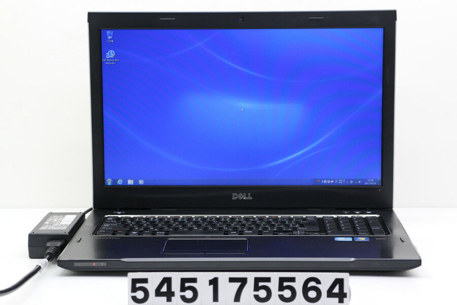 DELL Vostro 3750 Core i5 2450M 2.5GHz/4GB/320GB/Multi/17.3W/WXGA++(1600x900)/Win7【中古】【20170830】