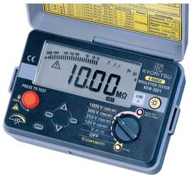 共立電気計器 KEW3023 絶縁抵抗計 100V/250V/500V/1000V 『3023共立』 KYORITSU