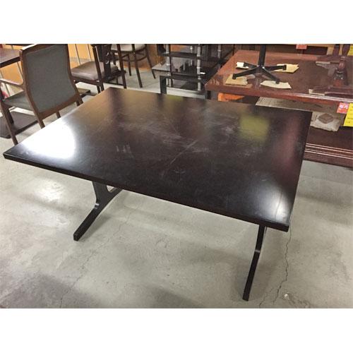 【中古】和風テーブル 幅1300×奥行900×高さ700 【送料別途見積】【業務用】