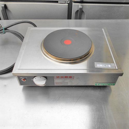 【中古】電気コンロ タニコー TH-2000EK 幅370×奥行300×高さ130/業務用/送料別途見積