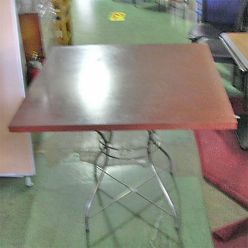 【中古】テーブル 幅850×奥行850×高さ740 【送料無料】【業務用】