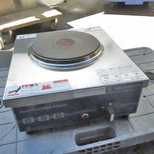 【中古】電気コンロ ニチワ THP-2 幅300×奥行340×高さ120  【送料無料】【業務用】