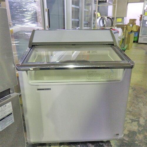 【中古】冷凍ショーケース パンソニック SCR-075DNA 幅750×奥行715×高さ920  【送料別途見積】【業務用】