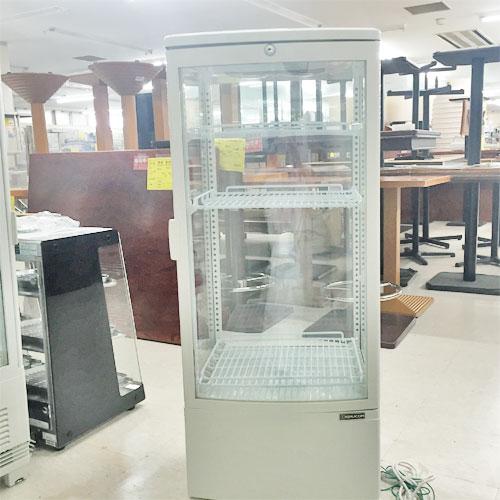 【中古】冷蔵ショーケース レマコム RCS-4G98S 幅430×奥行410×高さ1090  【送料別途見積】【業務用】