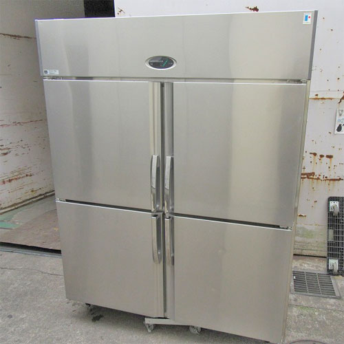 【中古】縦型冷蔵庫 フジマック FR1580J 幅1500×奥行800×高さ1900  【送料無料】【業務用】