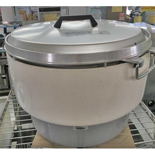 【中古】ガス炊飯器 リンナイ RR-40S1 幅525×奥行481×高さ408 LPG(プロパンガス) 【送料別途見積】【業務用】