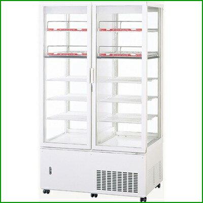 パナソニック(旧サンヨー) 冷蔵温蔵ショーケース 436L 単相100V 【SSR-561CHN(旧型式:SSR-560CHN)】 W1030×D535(+46)×H1780mm 【送料無料】【業務用】