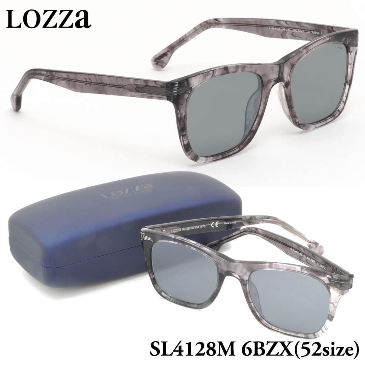 【ロッツァ】 (LOZZA) サングラスSL4128M 6BZX 52サイズNAPOLI 1 ミラーレンズLOZZA メンズ レディース