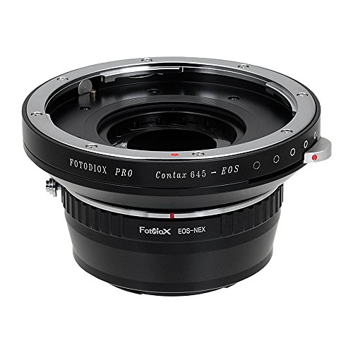 Fotodiox プロ レンズ Mount Adapters, Contax 645 (C645) Mount Lenses to to ソニー E-Mount Mirrorless Camera Adapter - for ソニー Alpha E-mount Camera Bodies (APS-C & Full フレーム such as NEX-5, NEX-7, a7, a7II) (海外取寄せ品)