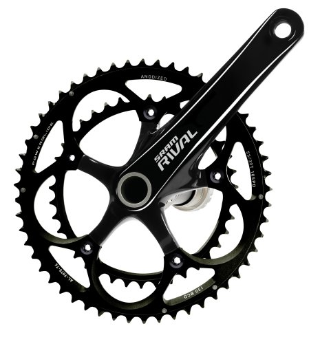 SRAM Rival OCT GXP 172.5mm 53-39T Rival OCT スタンダード Crankset with BB (海外取寄せ品)