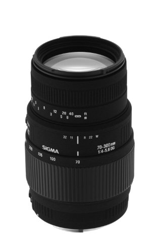 Sigma 70-300mm f/4-5.6 DG Macro Telephoto Zoom レンズ for Minolta and ソニー SLR Cameras - International Version (No Warranty) (海外取寄せ品)