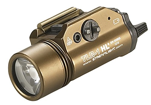 Streamlight Tlr-1 Hl With Lithium Batteries, Flat ダーク アース ブラウン - 「汎用品」(海外取寄せ品)