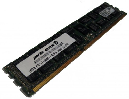 16GB Memory Upgrade for Supermicro X9DRT-PT Motherboard DDR3 PC3-14900 1866 MHz ECC レジスター DIMM RAM (PARTS-クイック BRAND) (海外取寄せ品)