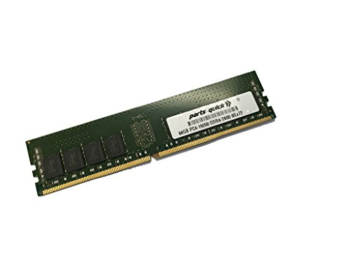 64GB Memory for Supermicro SuperServer 6028TP-DNCFR (Super X10DRT-PIBF) DDR4 PC4-2400 LRDIMM (PARTS-クイック BRAND) (海外取寄せ品)