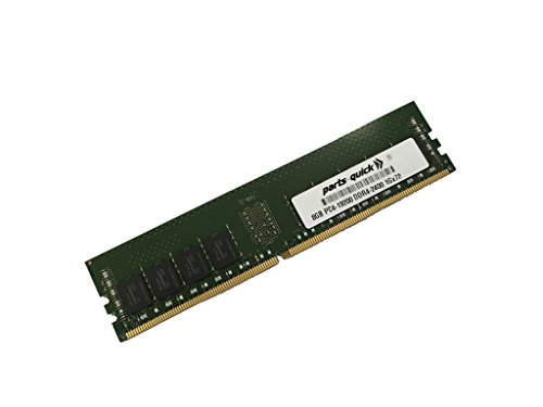 8GB Memory for ASUS Z10PA-D8C Motherboard DDR4 PC4-2400 レジスター DIMM (PARTS-クイック BRAND) (海外取寄せ品)