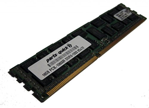16GB Memory for Supermicro SuperServer 1026GT-TRF-FM309 PC3L-10600 1333MHz LP RDIMM (PARTS-クイック BRAND) (海外取寄せ品)