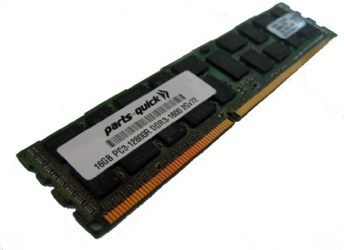 16GB DDR3 Memory Upgrade for HP Compaq ProLiant DL380p Gen8 (G8) PC3-12800 ECC レジスター DIMM 240 ピン 1600MHz RAM (PARTS-クイック BRAND) (海外取寄せ品)
