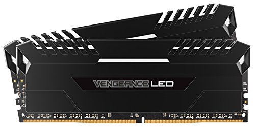 Corsair Vengeance 32GB (2x16GB) DDR4 3000 (PC4-24000) C15 for DDR4 Systems, ホワイト LED (CMU32GX4M2C3000C15) (海外取寄せ品)