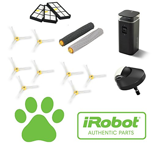 Pet Lovers Service キット - Authentic iRobot Roomba 900 Series Robotic Vacuum Service Kit. フィット iRobot 980 & iRobot 960 Robotic Vacuum Cleaners Developed For ホーム With Cats, Dogs & Human Hair. 「汎用品」(海外取寄せ品)