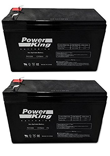 UPG UB1280I リプレイスメント シール Lead Acid Batteries (2 Pack) Beiter DC Power 「汎用品」(海外取寄せ品)