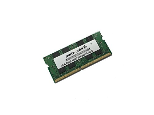 16GB (1x16GB) Memory for HP Omen 15-ax000 Series Laptop PC DDR4 PC4-19200 2400MHz SODIMM RAM (PARTS-クイック BRAND) (海外取寄せ品)