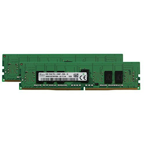 Hynix オリジナル 16GB (2x8GB) Memory Upgrade for SuperMicro SuperServers DDR4 2400MHZ PC4-19200 ECC レジスター チップ 1Rx8 CL17 1.2V (海外取寄せ品)
