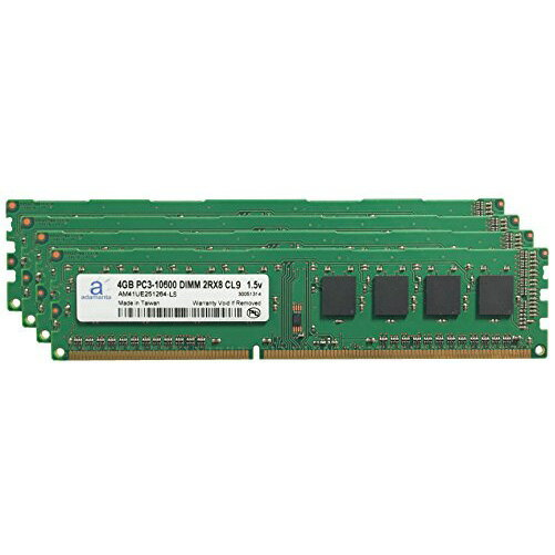 Adamanta 16GB (4x4GB) デスクトップ Memory Upgrade for Acer Aspire M1935-001 DDR3 1333 PC3-10600 DIMM 2Rx8 CL9 1.5v ノート RAM (海外取寄せ品)