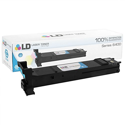 LD c Compatible Xerox 6400 / 106R01317 ハイ Yield シアン Toner Cartridge for WorkCentre 6400, 6400S, 6400SFS, 6400X, 6400XF (海外取寄せ品)