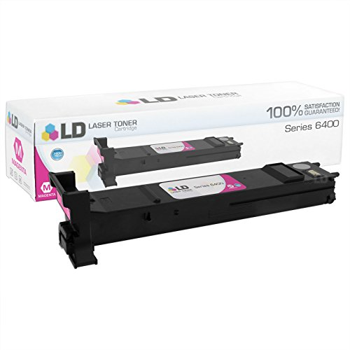 LD c Compatible Xerox 6400 / 106R01318 ハイ Yield Magenta Toner Cartridge for WorkCentre 6400, 6400S, 6400SFS, 6400X, 6400XF (海外取寄せ品)