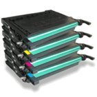 Remanufactured CLP-600 Toner Cartridges コンボ - 4pk (BCMY) for use in For サムスン CLP-600N CLP-650 (海外取寄せ品)