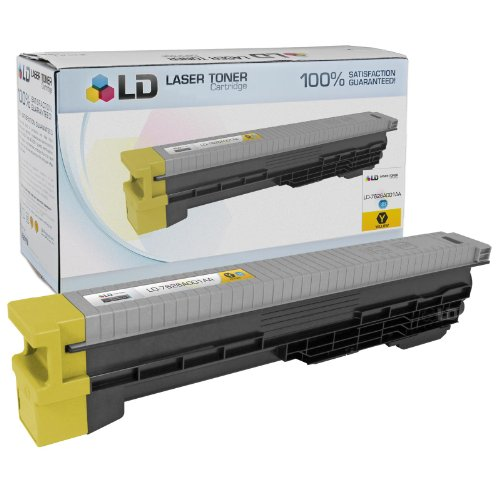 LD c Compatible ハイ Yield イエロー Laser Toner Cartridge for Canon 7626A001AA (GPR11 Y) (海外取寄せ品)