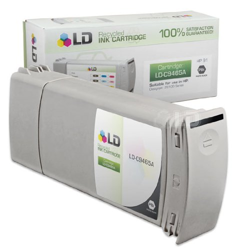 LD c Remanufactured リプレイスメント for HP 91 / C9465A Pigment Photo ブラック (海外取寄せ品)