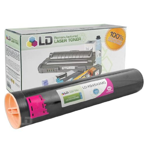 LD c Remanufactured ハイ Yield Magenta Laser Toner Cartridge for Lexmark X945X2MG (海外取寄せ品)