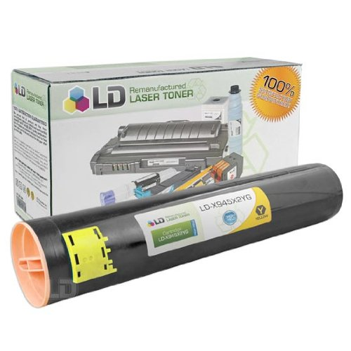 LD c Remanufactured ハイ Yield イエロー Laser Toner Cartridge for Lexmark X945X2YG (海外取寄せ品)