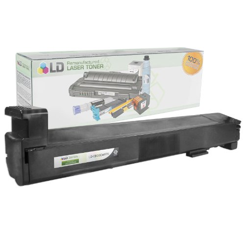 LD c Remanufactured リプレイスメント Laser Toner Cartridge for Hewlett Packard CB390A (HP 825A) ブラック (海外取寄せ品)
