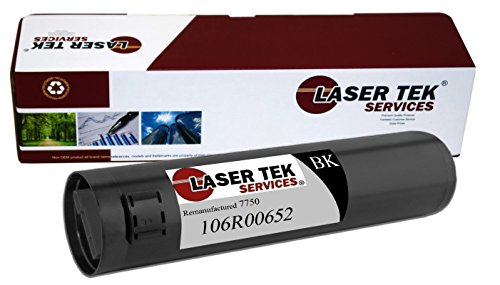 Laser Tek ServicesR Xerox 106R00652 (7750) ブラック ハイ Yield Remanufactured リプレイスメント Toner Cartridge for the Xerox Phaser 7750, Phaser EX7750, Phaser EX7760, Phaser EX7800, Phaser EX7890 (海外取寄せ品)