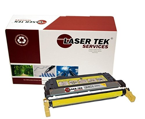 Laser Tek Services Compatible 644A Toner Cartridge リプレイスメント for the HP Q6462A. (Yellow, 1-Pack) (海外取寄せ品)