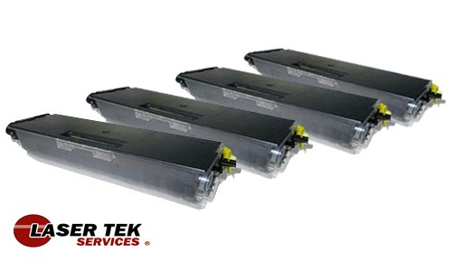 Laser Tek ServicesR ハイ Yield Toner Cartridge 4 パック Compatible with Brother HL-5250 TN-580 (海外取寄せ品)