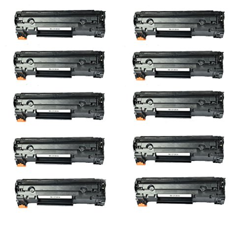 Etechwork 10 パック Compatible Toner Cartridge リプレイスメント for HP 83A CF283A (海外取寄せ品)