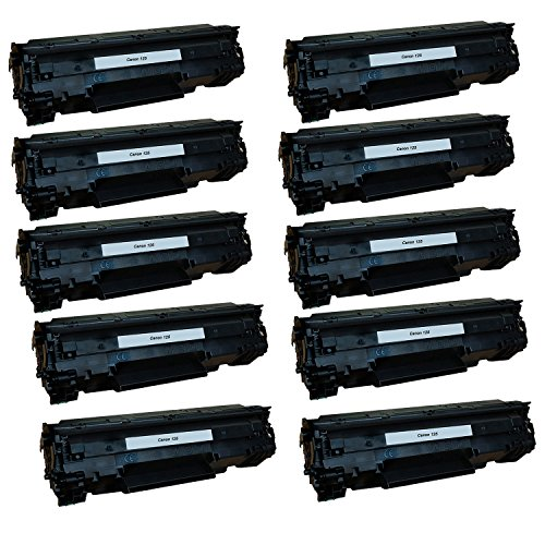 Canon Toner- Canon 125 (3484B001AA) Remanufactured ブラック Laser Toner Cartridge (CE285A) -10PK (海外取寄せ品)
