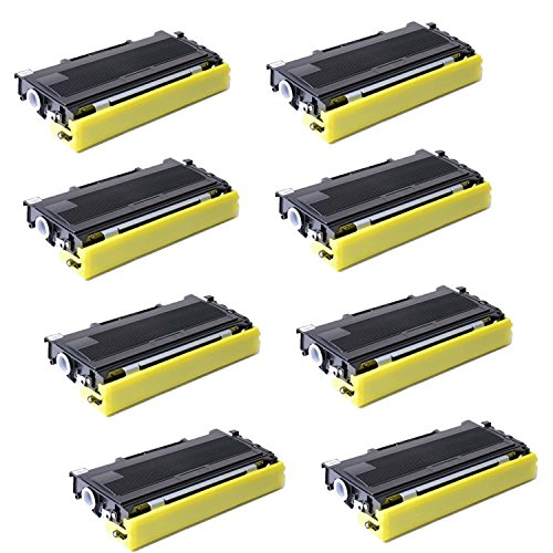 Compatible with Brother TN350 Toner Cartridge, for use in Brother HL2040/HL2070/MFC70420/MFC70820-8Pack (海外取寄せ品)