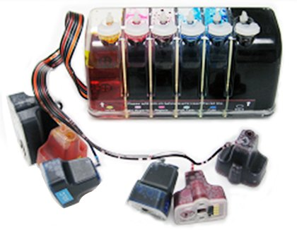 Gigablock バルク Continuous Ink System (CIS) for HP(Hewlett Packard) Printers that are used in HP02 Cartridge (See Product Description) (海外取寄せ品)