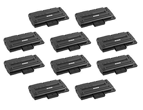 InkClub 10PK プレミアム Remanufactured MLT-D109S, MLT-D109S/XAA ブラック Toner Cartridge Compatible for SCX-4300 (海外取寄せ品)