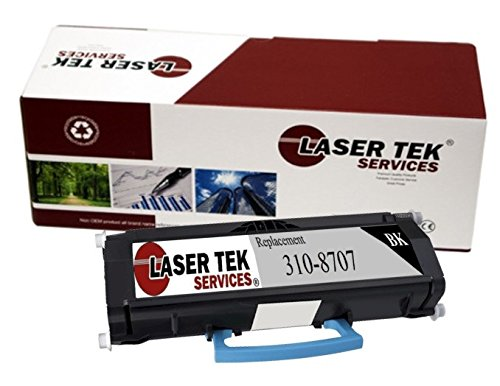 Laser Tek ServicesR 1 パック デル 1720 (310-8707) ブラック Compatible リプレイスメント Toner Cartridge for use in the デル 1720, デル 1720dn (海外取寄せ品)