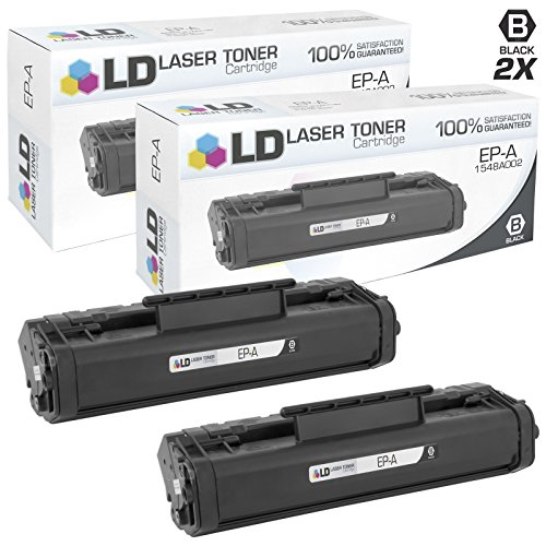 LD c Remanufactured Canon EP-A / 1548A002 セット of 2 ブラック Toner Cartridges for LBP 460 (海外取寄せ品)