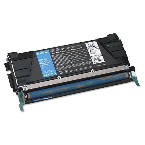 Lexmark シアン Return Program Toner Cartridge - シアン - Laser - 3000 ページ - 1 Each (海外取寄せ品)