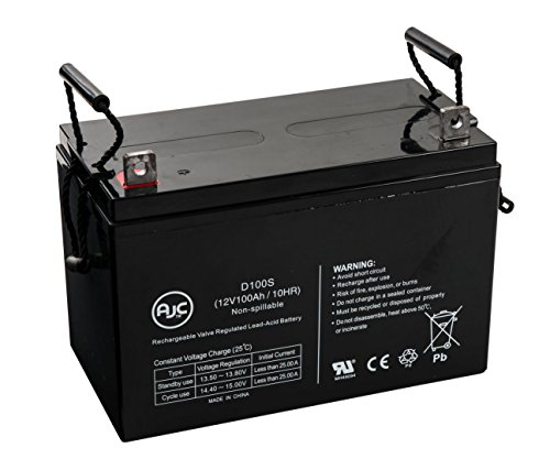 Alpha Technologies AS3100-36 12V 100Ah UPS バッテリー - This is an AJC ブランド Brand リプレイスメント (海外取寄せ品)